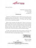 referencje-Adfors mistrzowskie