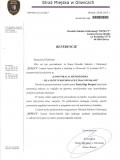 referencje - Straż Miejska Gliwice - Olga Borgieł